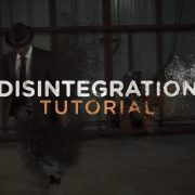 amazing disintegration tutorial!