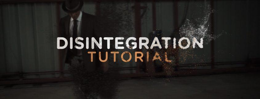 amazing disintegration tutorial!