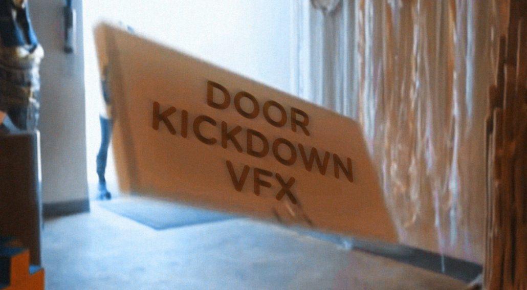 Kick down a door with VFX Tutorial