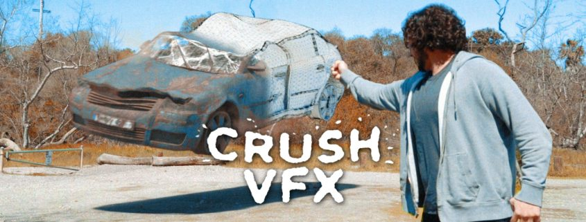 Crush a 3D Car with VFX - Mini Tutorial
