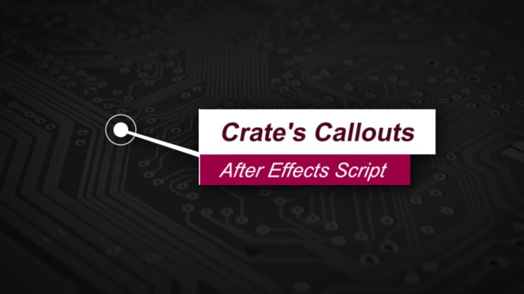 Create Callouts for Free in After Effects (Script Download) - Video
