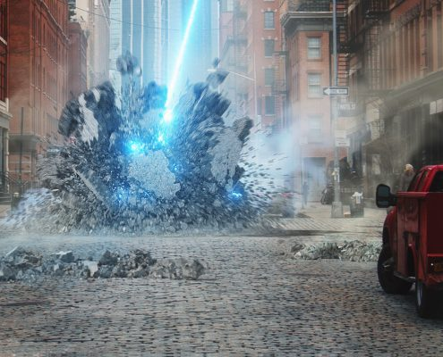 Debris and Destruction Movie VFX