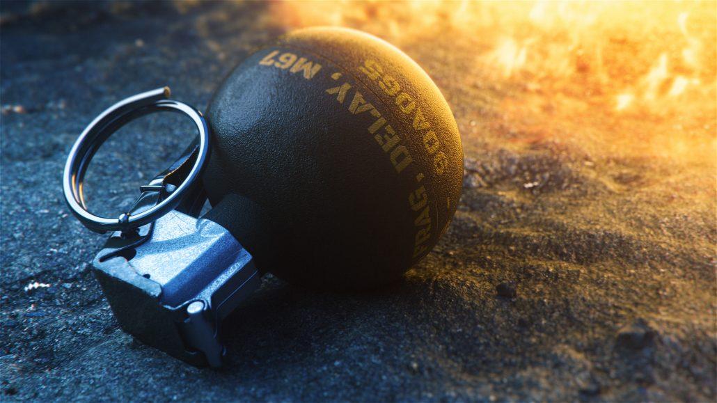 Download Photorealistic 3D Grenade Models