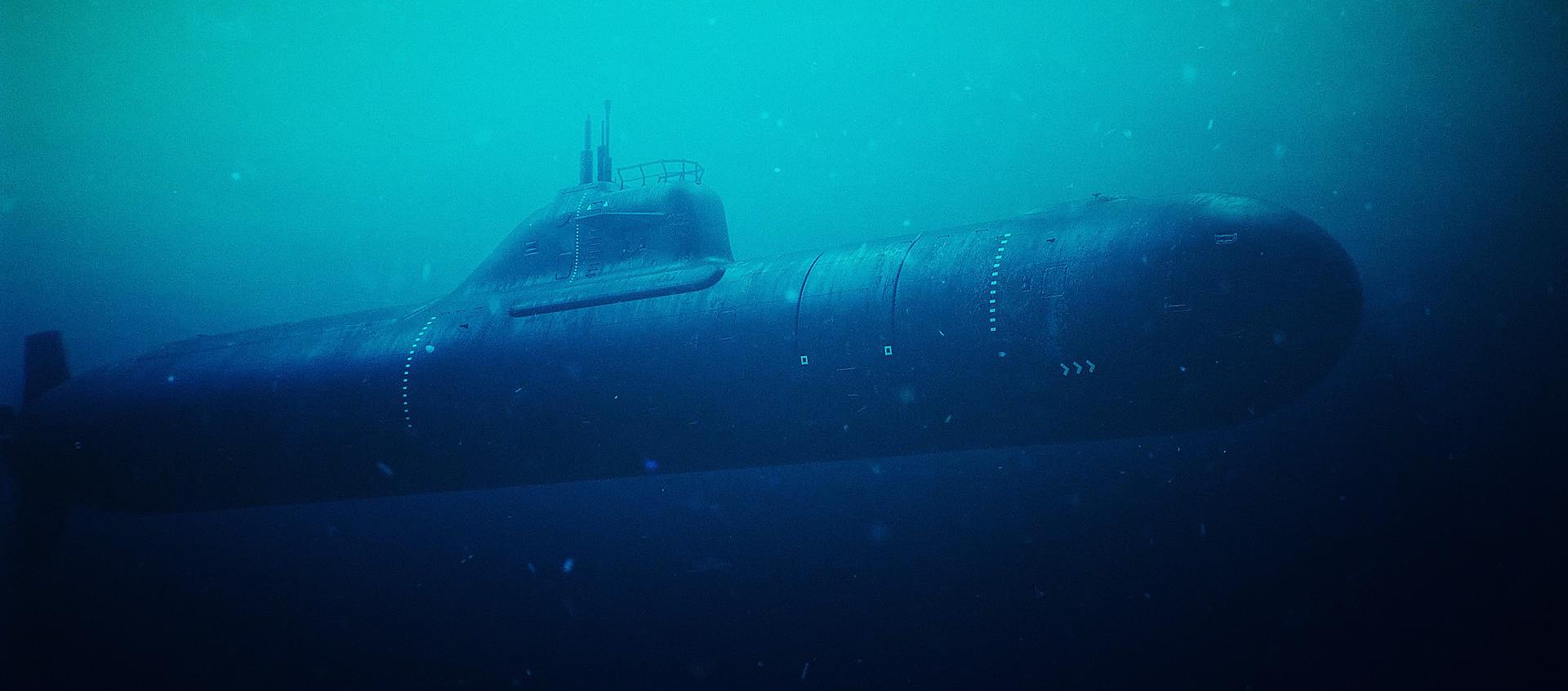 Ocean Cinematic Creator Pack Submarine 3D Model