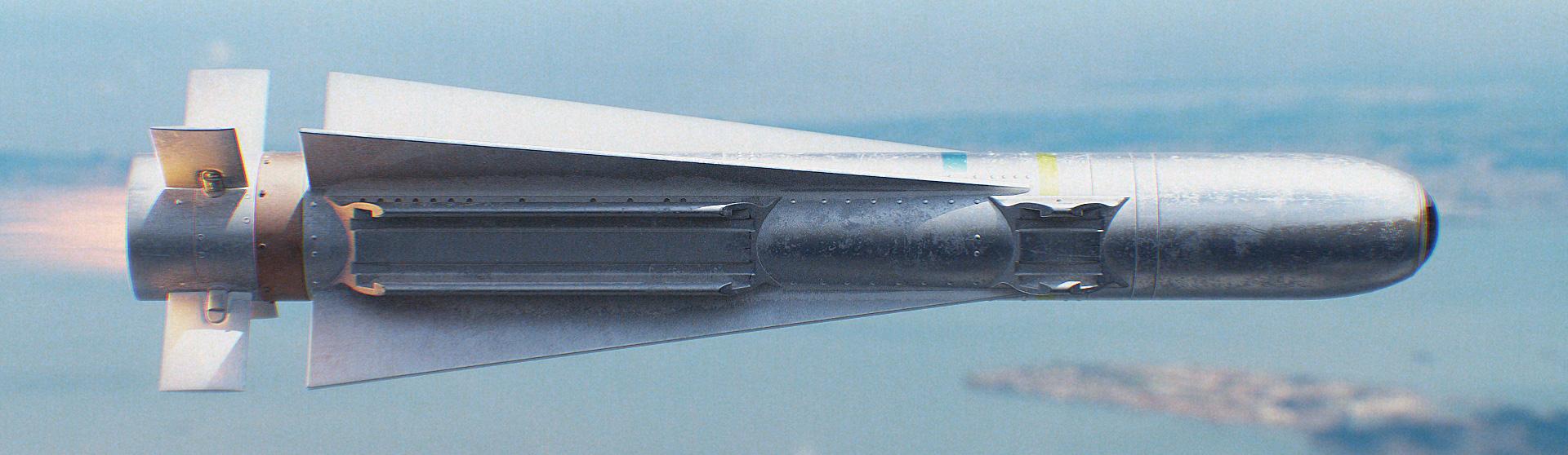 Download AGM-65 Maverick Missile 3D Model