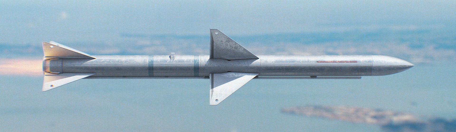 Download Sparrow Missile 3D Model